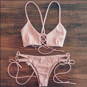 Blush Pink Bikini